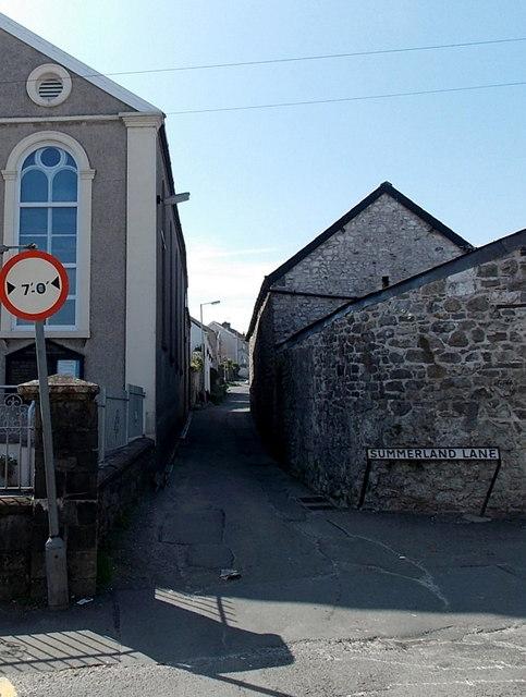 Narrow Summerland Lane, Newton, Swansea