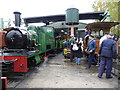 SK2406 : Statfold Barn Railway - all over till March by Chris Allen
