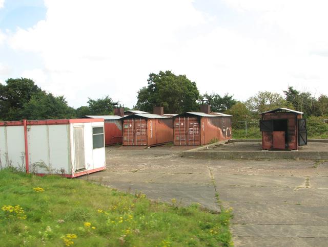Fire training area