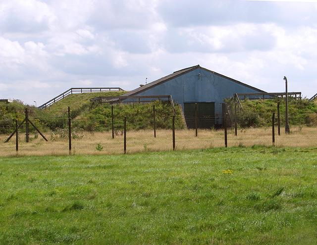 Munitions storage building