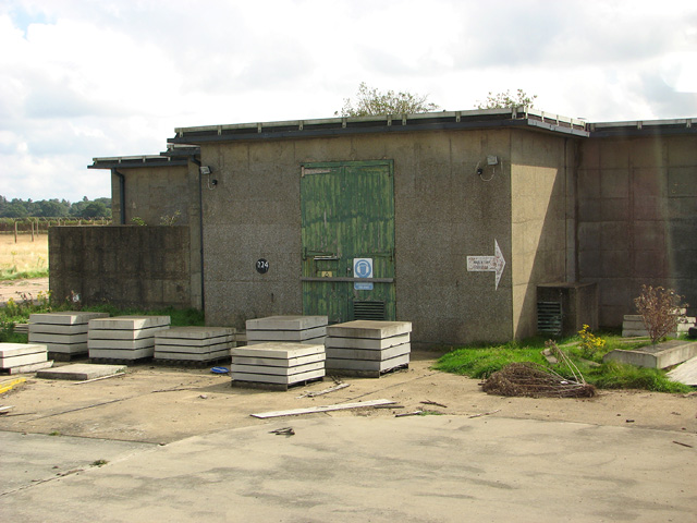 Missile inspection and preparation buildings