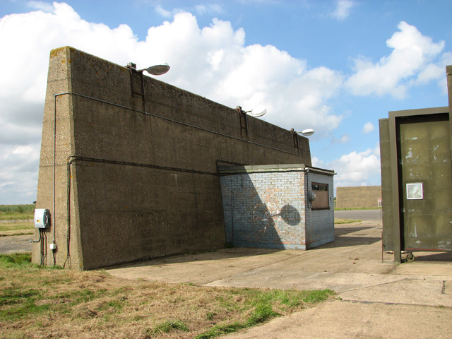 Cold War blast wall