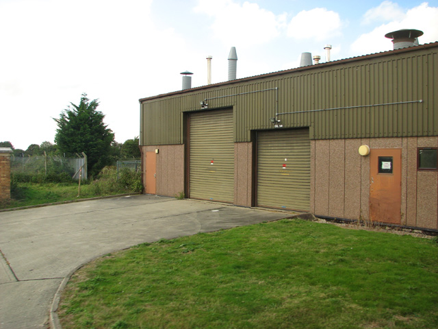 Engine shed on the Technical site
