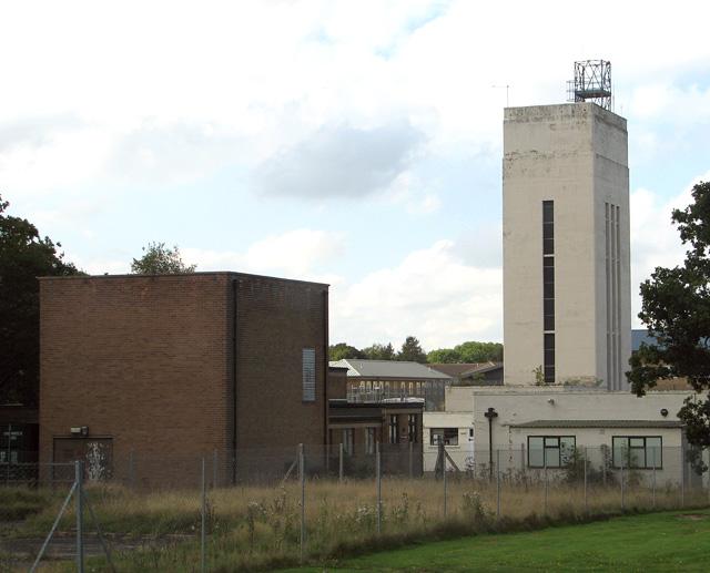 Art Deco water tower