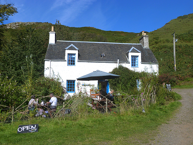 Lower Gylen Tearoom