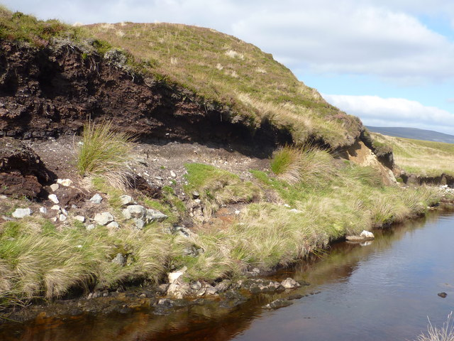 Peat and boulder clay