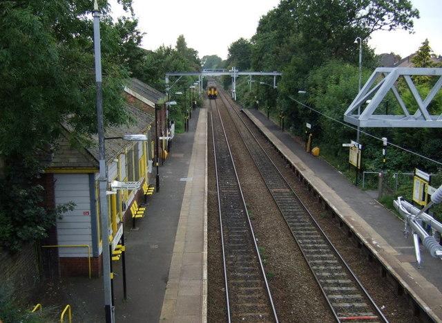 Eccleston Park Railway Station