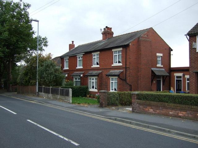Houses on Delph Lane