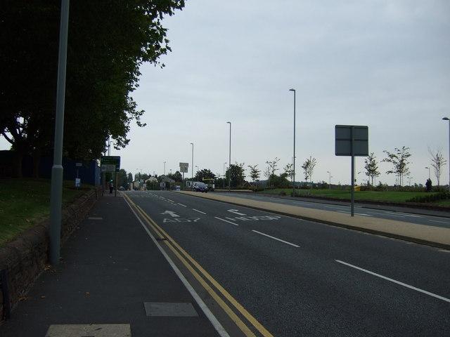 A57 heading south east
