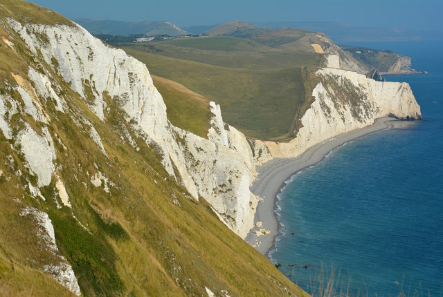 View East from White Nothe, near Ringstead, Dorset