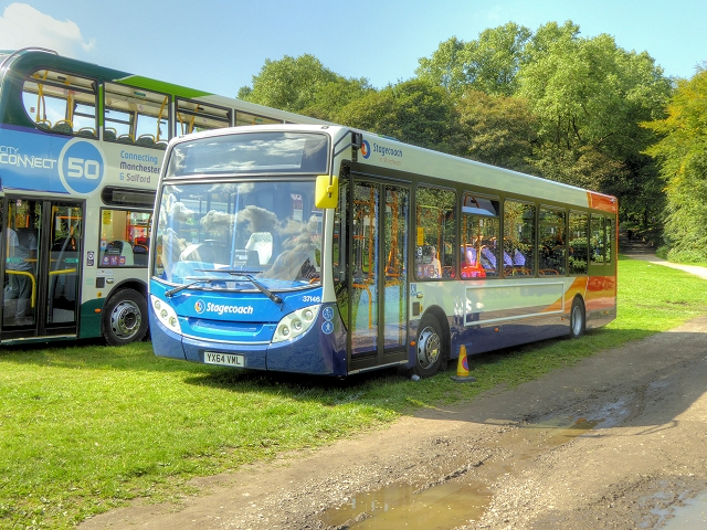 Trans Lancs Rally 2014, Heaton Park