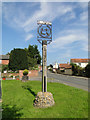 TM4360 : Village sign for Knodishall and Coldfair by Adrian S Pye
