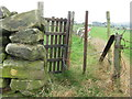 SK3091 : Gate on the path by Dave Pickersgill