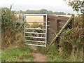 SK3092 : Gate on the path by Dave Pickersgill