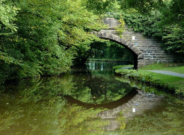 Greensdeep Bridge north of Whaley Bridge, Derbyshire