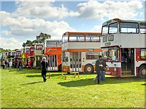 SD8203 : Heaton Park Showground, 2014 Trans Lancs Rally by David Dixon