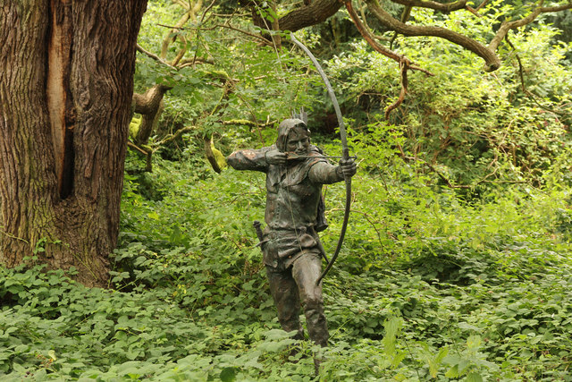 Robin Hood © Richard Croft :: Geograph Britain and Ireland