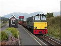 SH5752 : Rhyd Ddu station by Gareth James