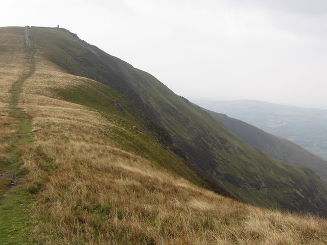 Towards Mynydd Tal-y-mignedd