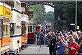 SK3455 : The Saturday cavalcade at Victoria Park with crowds of photographers by Alan Murray-Rust