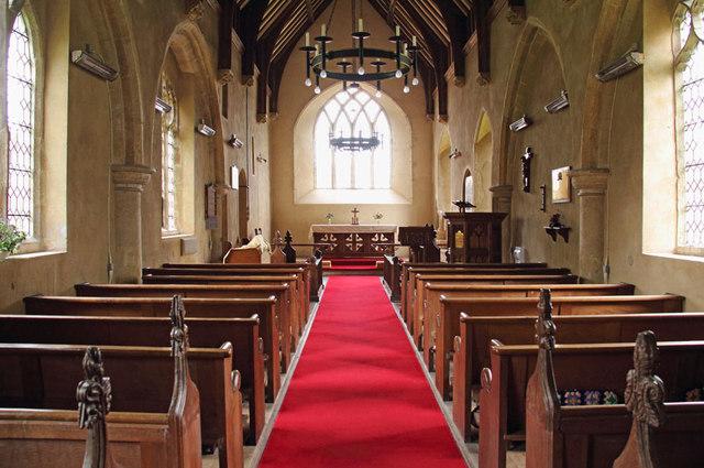 All Saints, Sharrington - East end
