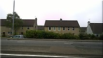 NS4075 : Houses on Dumbuck Road, Dumbarton by Steven Haslington