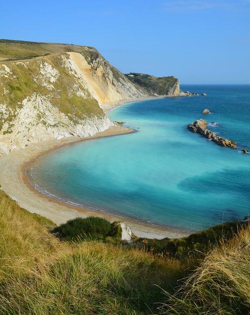 Milky sea, St. Oswald's Bay, near Lulworth, Dorset