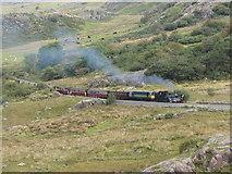 SH5752 : WHR at Rhyd Ddu by Gareth James