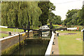TL0386 : Barnwell Lock by Richard Croft