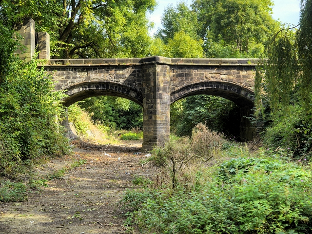Bridge over the Moat at Clayton Hall