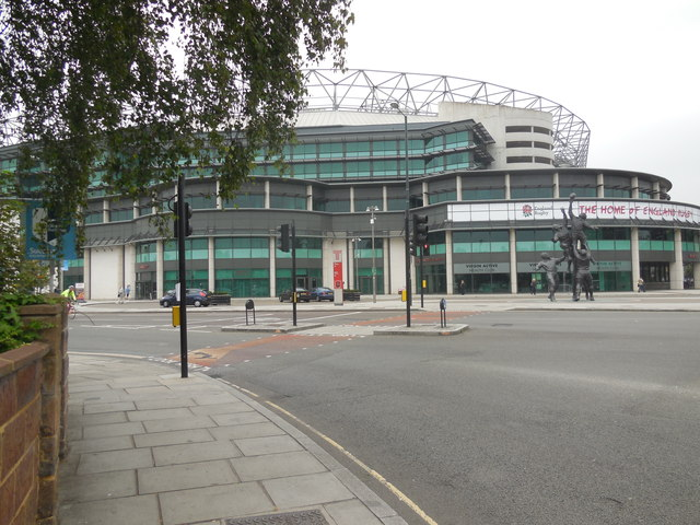 SE Entrance, Twickenham Rugby Stadium