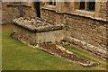 TL0283 : Churchyard tombs by Richard Croft
