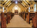 SJ7996 : St Antony's Church - Inside the Tin Tabernacle (1) by David Dixon