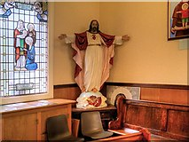 SJ7996 : St Antony's Church - Inside the Tin Tabernacle (2) by David Dixon
