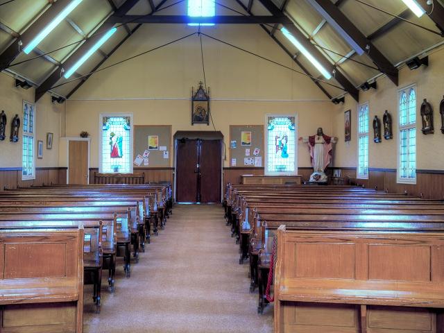 St Antony's Church - Inside the Tin Tabernacle (6)