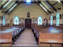 SJ7996 : St Antony's Church - Inside the Tin Tabernacle (6) by David Dixon