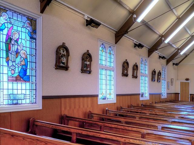 St Antony's Church - Inside the Tin Tabernacle (8)