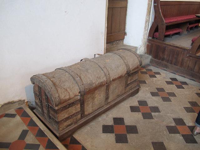 Cawston, St Agnes: chest