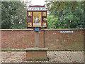 TG1323 : Cawston village sign by Stephen Craven