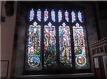 SD9772 : St. Mary, Kettlewell: stained glass window (a) by Basher Eyre