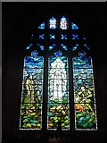 SD9772 : St. Mary, Kettlewell: stained glass window (d) by Basher Eyre