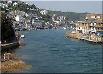 SX2553 : Looe Harbour by Derek Harper