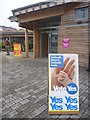 NT6778 : East Lothian Townscape : Polling Station, Bleachingfield Centre by Richard West