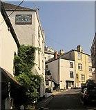 SX2553 : Castle Street, Looe by Derek Harper