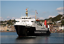 NM8529 : Hebridean Isles in Oban Bay (2) by The Carlisle Kid