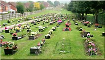 SO8171 : Stourport-on-Severn cemetery by Peter Evans