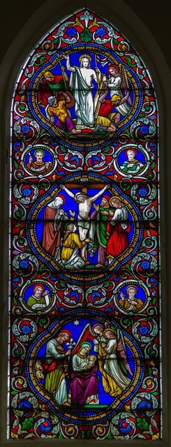 East Window, St Mary's church, South Kelsey