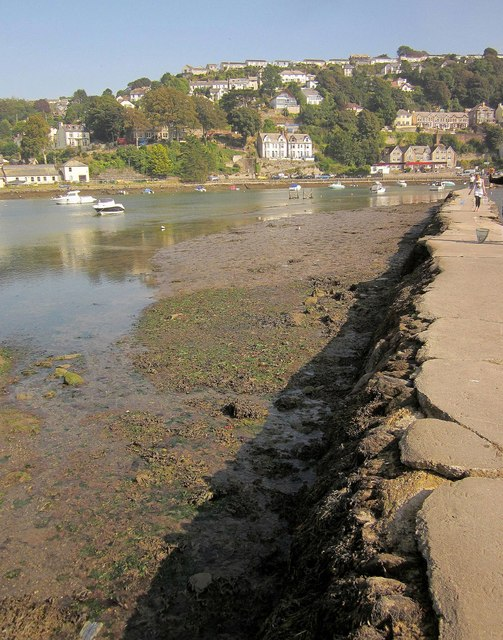 East Looe from the millpool