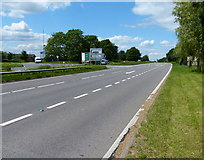 SP4788 : The A5 at High Cross by Mat Fascione