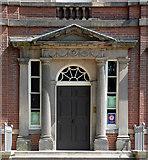 SK3436 : Detail of 41 Friar Gate, Derby by Stephen Richards